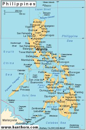 Manila And Surrounding Area 2001